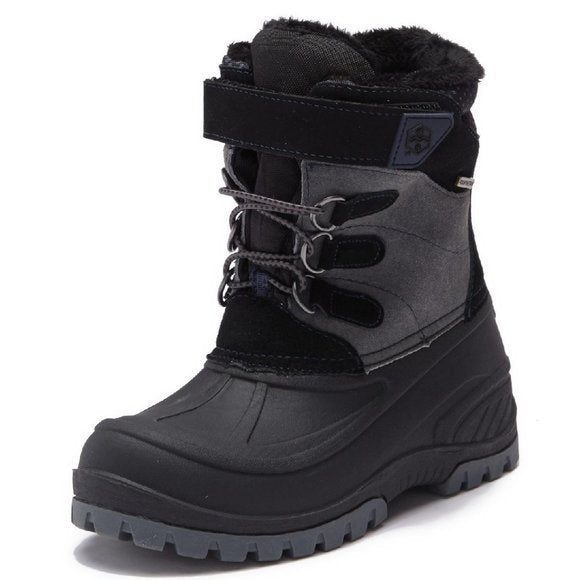 Khombu Snowtracker Faux Fur Lined Waterproof Boot