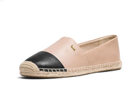 Michael Kors Kendrick Leather Slip-On Espadrille