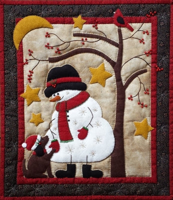 "Frosty and Friends Winter Wallhanging Complete Kit, 13"" x 15"""
