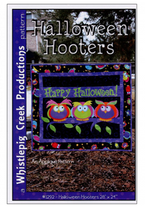 Halloween Hooters Wallhanging Pattern