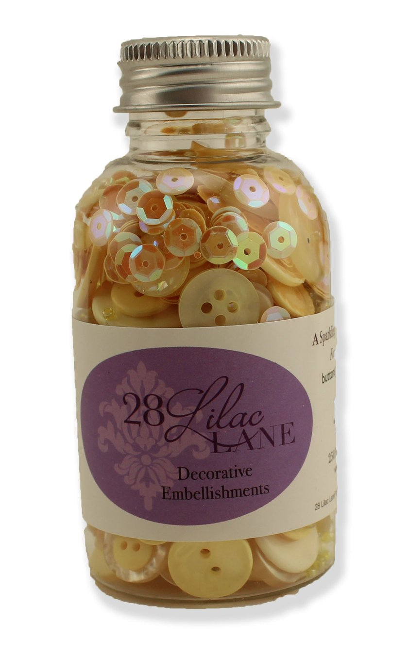 Hello Sunshine Embellishments, 28 Lilac Lane, 3.4 ounce Bottle