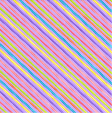 "Loralie Designs — Bias Stripe Purple Fabric, 44/45"" Wide, By the Yard"