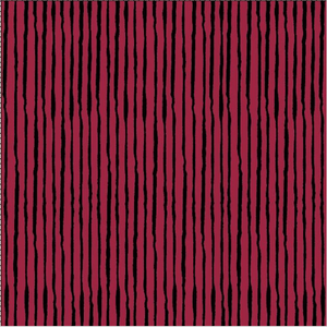 "Loralie Designs — Sorta Stripe Ruby Fabric, 44/45"" Wide, By the Yard"
