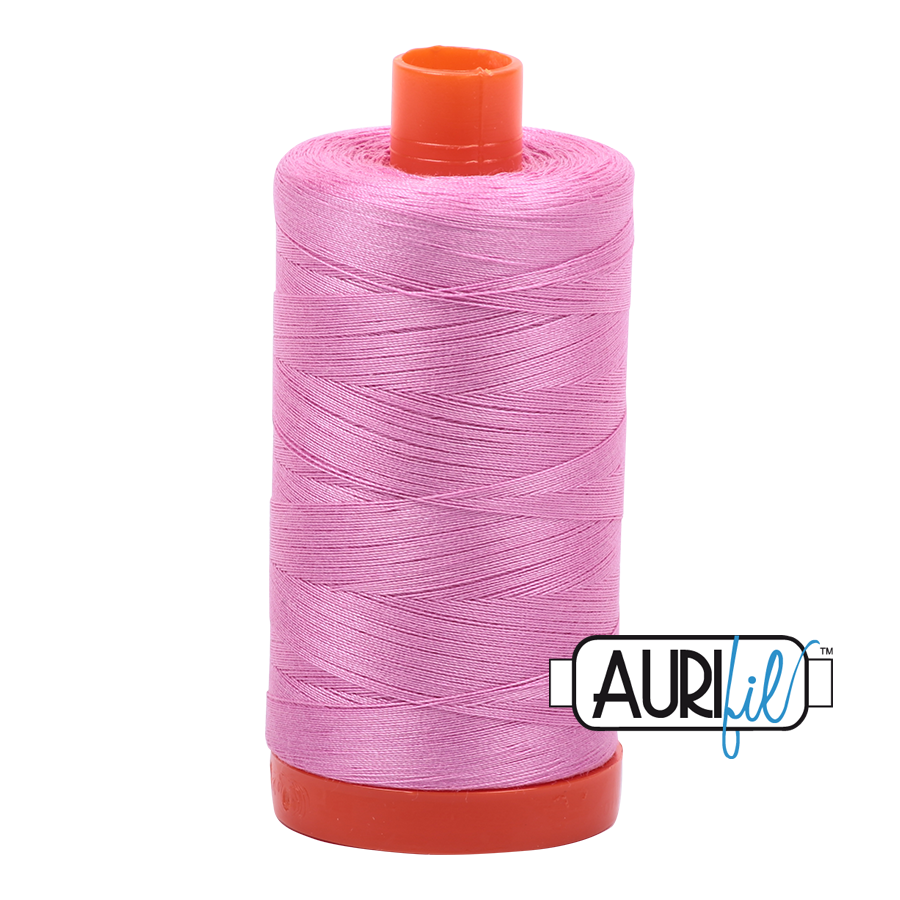 Aurifil Thread, 100% Cotton, Medium Orchid #2479, 50 wt, 1422 yards