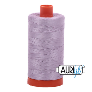 Aurifil Thread, 100% Cotton, Lilac #2562, 50 wt, 1422 yards