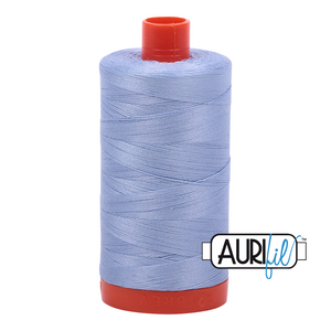 Aurifil Thread, 100% Cotton, Very Light Delft #2770, 50 wt, 1422 yards