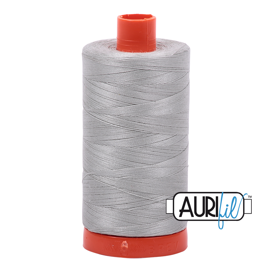 Aurifil Thread, 100% Cotton, Airstream #6726, 50 wt, 1422 yards