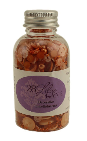 Pumpkin Spice Embellishments, 28 Lilac Lane, 3.4 ounce Bottle