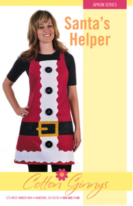 Santa's Helper Apron Pattern by Cotton Ginnys