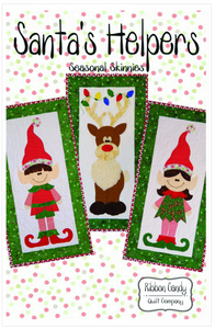 Santa's Helpers Skinny Quilts by Ribbon Candy Quilt Company