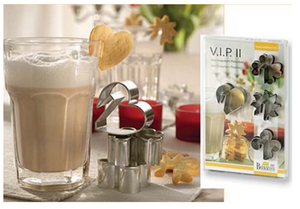 VIP Cookie Cutters, Set of 4