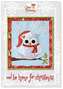 Owl Be Home for Christmas Pattern by Cherry Blossoms Quilting Studio