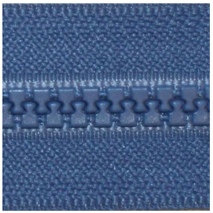 "YKK Vislon 14"" Separating Zipper, Size #5 (5mm Wide Teeth), Rocket Blue"