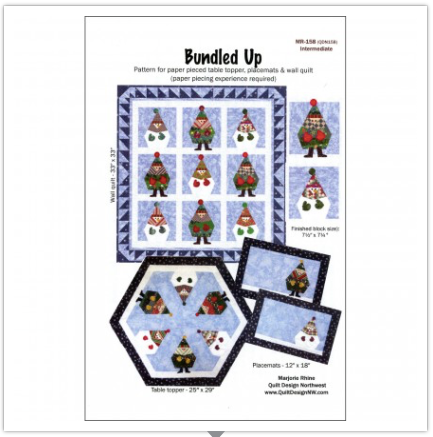 Bundled Up Pattern by Quilt Design NW