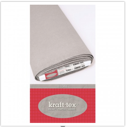 "kraft•tex™ Kraft Paper Fabric, 19"" Wide, Stone, C&T Publishing"