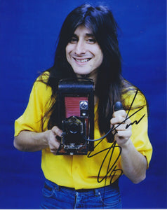 "Steve Perry Signed Autographed ""Journey"" Glossy 8x10 Photo - COA Matching Holograms"