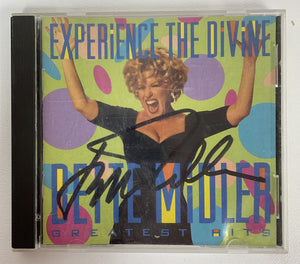 "Bette Midler Signed Autographed ""Experience the Divine"" Music CD - COA Matching Holograms"