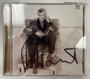 "Rod Stewart Signed Autographed ""A Spanner in the Works"" Music CD - COA Matching Holograms"