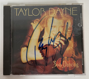 "Taylor Dane Signed Autographed ""Soul Dancing"" Music CD - COA Matching Holograms"