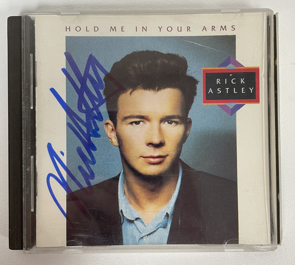 Rick Astley Signed Autographed