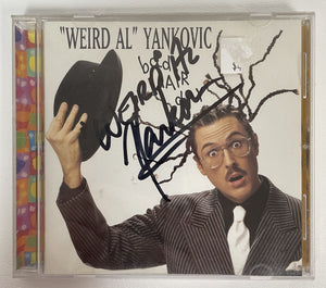 "Weird Al Yankovic Signed Autographed ""Bad Hair Day"" Music CD - COA Matching Holograms"