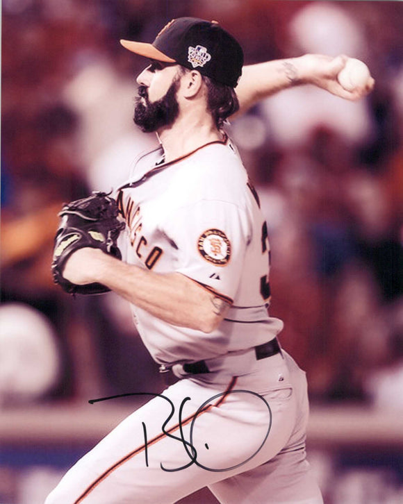 Brian Wilson Signed Autographed Glossy 8x10 Photo San Francisco Giants - COA Matching Holograms