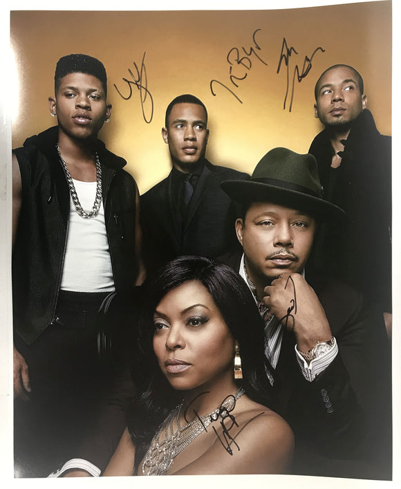 Empire Cast Signed Autographed Glossy 16x20 Photo - COA Matching Holograms