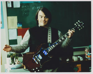 "Jack Black Signed Autographed ""School of Rock"" Glossy 8x10 Photo - COA Matching Holograms"