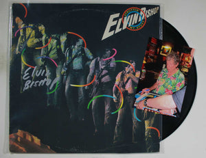 "Elvin Bishop Signed Autographed ""Struttin' My Stuff"" Record Album - COA Matching Hologram"