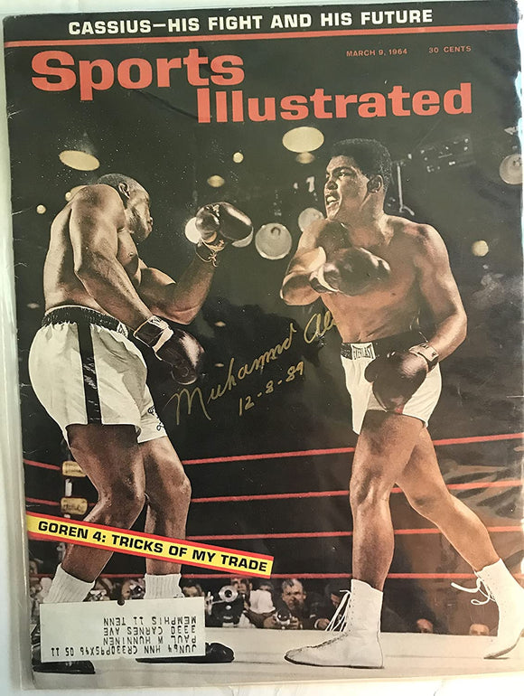 Muhammad Ali Signed Autographed Complete 1964