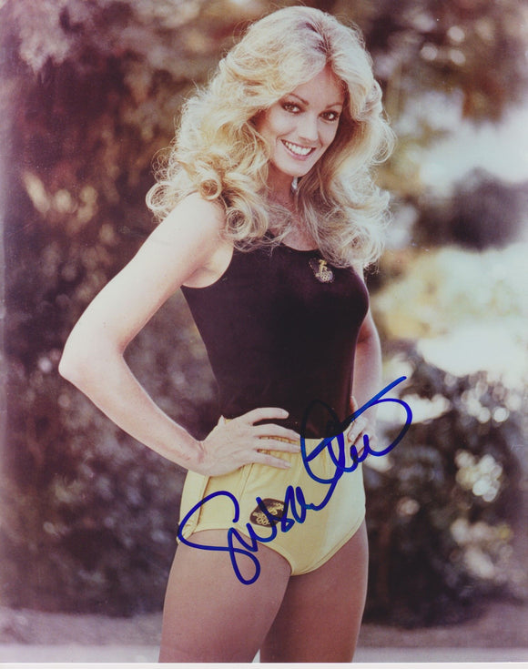 Susan Anton Signed Autographed Glossy 8x10 Photo - COA Matching Holograms