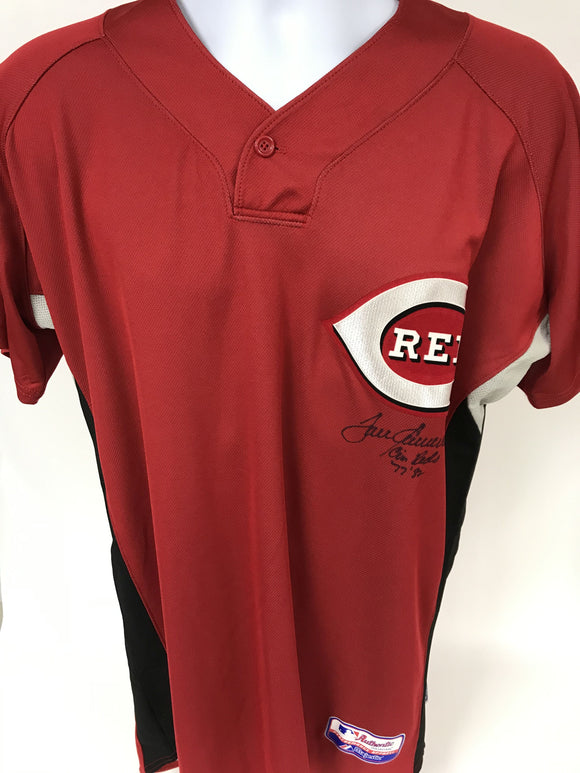 Tom Seaver Signed Autographed Cincinnati Reds Baseball Jersey - COA Matching Holograms