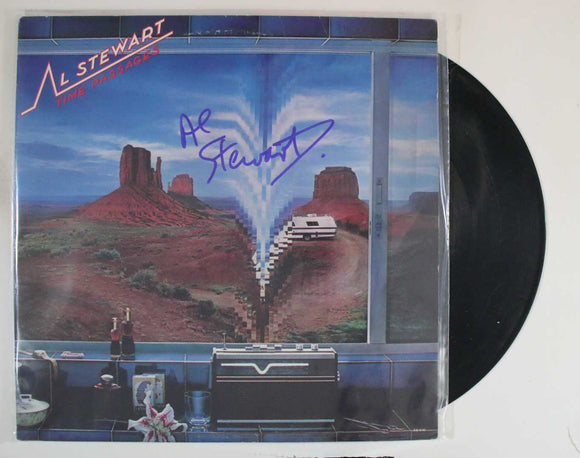 Al Stewart Signed Autographed 'Time Passages' Record Album - COA Matching Holograms