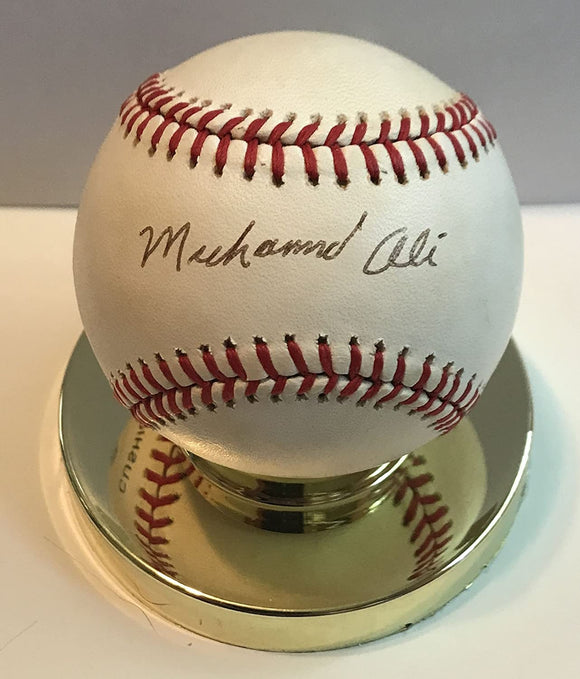 Muhammad Ali Signed Autographed Official American League (OAL) Baseball - COA Matching Holograms