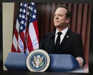 Kiefer Sutherland Signed Autographed 'Designated Survivor' Glossy 11x14 Photo - COA Matching Holograms