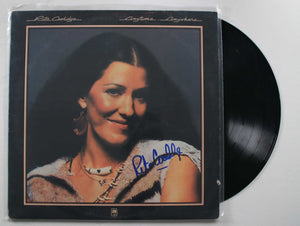 "Rita Coolidge Signed Autographed ""Anytime Anywhere"" Record Album - COA Matching Holograms"
