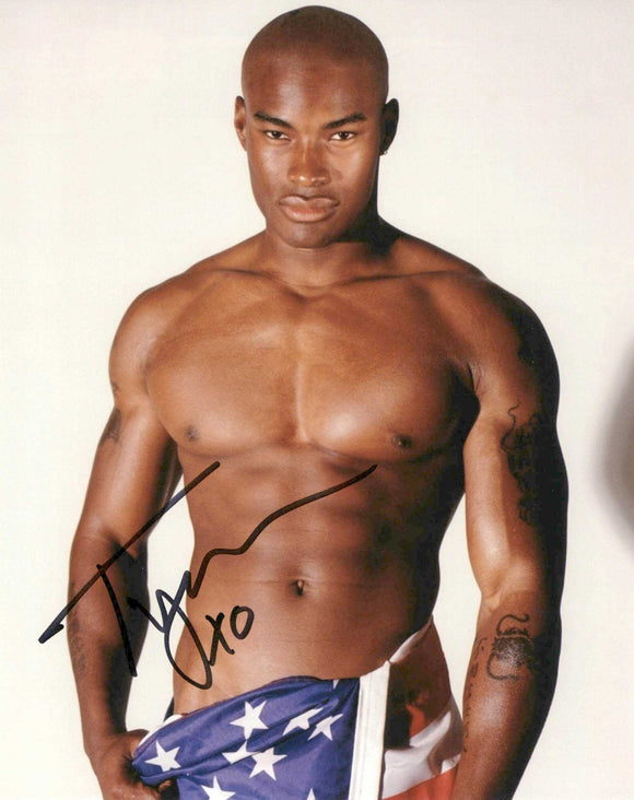 Tyson Beckford Signed Autographed Glossy 8x10 Photo - COA Matching Holograms