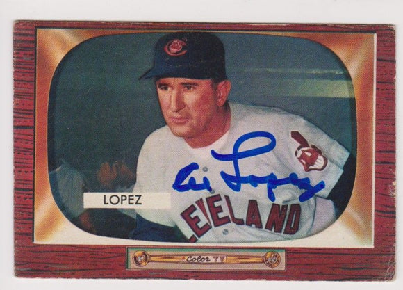 Al Lopez (d. 2005) Signed Autographed 1962 Topps Baseball Card - Cleveland Indians