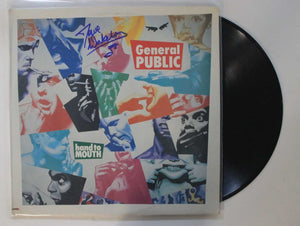 "Dave Wakeling of General Public Signed Autographed ""Hand to Mouth"" Record Album - COA Matching Holograms"