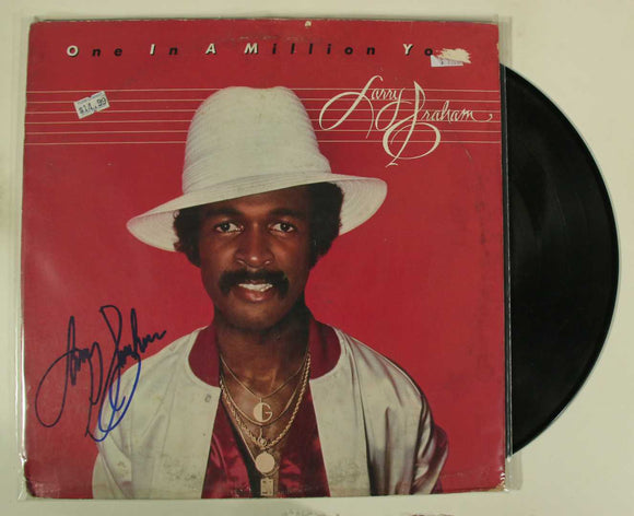 Larry Graham Signed Autographed 'One in a Million You' Record Album - COA Matching Holograms