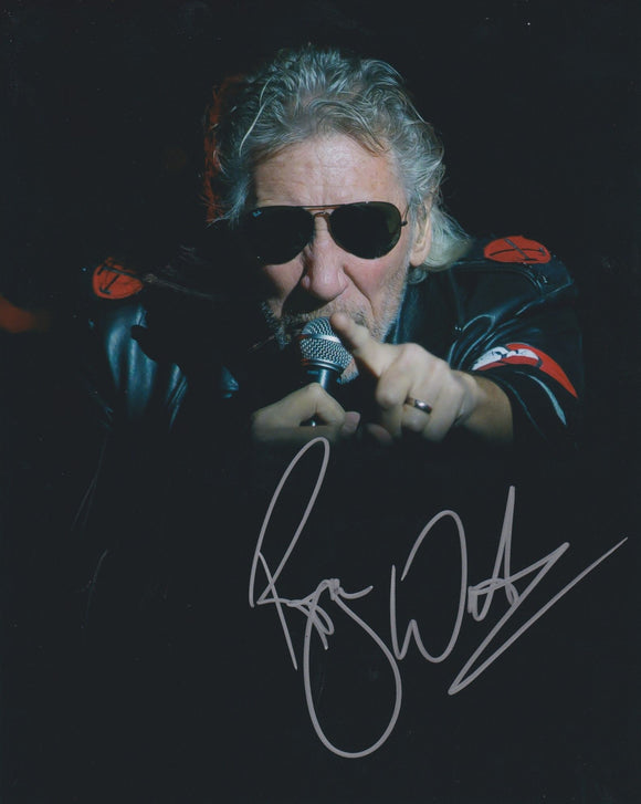 Roger Waters Signed Autographed