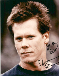 Kevin Bacon Signed Autographed Glossy 8x10 Photo - COA Matching Holograms