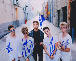 Why Don't We Band Signed Autographed Glossy 8x10 Photo - COA Matching Holograms