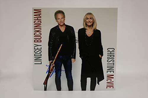 Lindsey Buckingham & Christine McVie Signed Autographed 12x12 Promo Photo - COA Matching Holograms