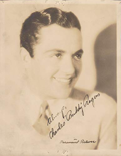 Charles 'Buddy' Rogers (d. 1999) Signed Autographed Vintage 5x7 Photo - COA Matching Holograms