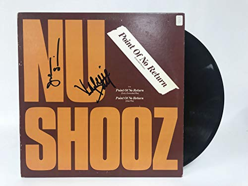 Valerie Day & John Smith Dual Signed Autographed 'New Shooz' Record Album - COA Matching Holograms