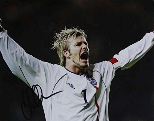 David Beckham Signed Autographed Glossy 11x14 Photo