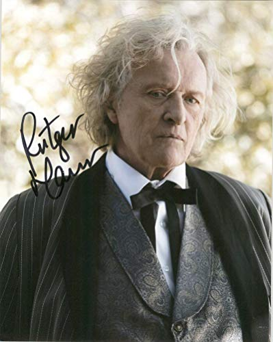 Rutger Hauer Signed Autographed 'True Blood' Glossy 8x10 Photo - COA Matching Holograms