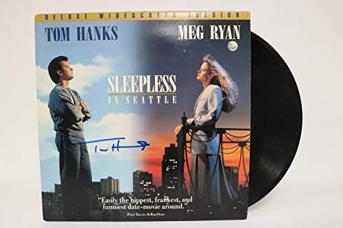 Tom Hanks Signed Autographed 'Sleepless in Seattle' Laser Disc - COA Matching Holograms