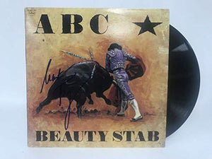 Martin Fry Signed Autographed ABC 'Beauty Stab' Record Album - COA Matching Holograms